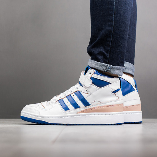 Chaussures femme sneakers adidas Originals Forum Mid BY4412 ...