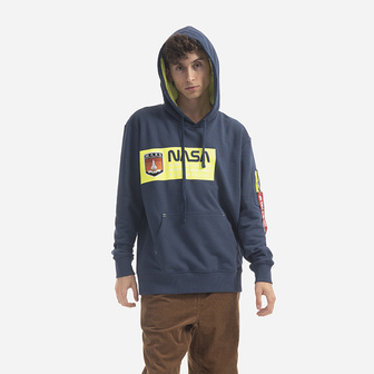 Alpha Industries Mars Neon Hoody 126332 435