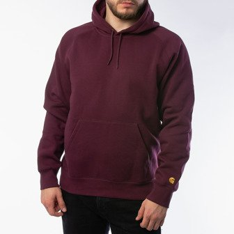 Carhartt WIP Hooded Chase Sweatshirt I026384 SHIRAZ/GOLD