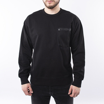 Carhartt WIP Military Mesh Pocket Sweatshirt I027720 BLACK