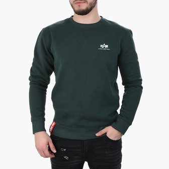 Sweat homme Alpha Industries Basic Sweater Small Logo 188307 353