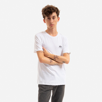 T-shirt homme Alpha Industries Basic Small Logo 188505 09