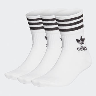 adidas Originals Mid Cut Crew Socks 3-pack GD3575