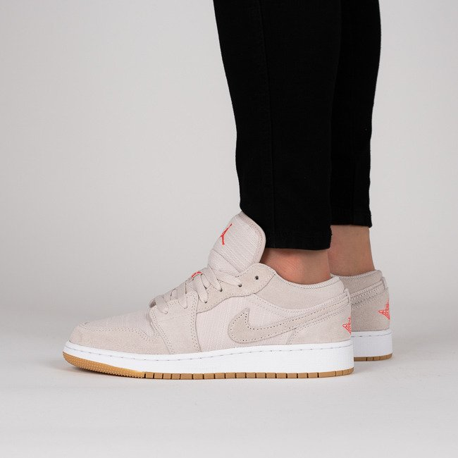 ... Baskets femme Air Jordan 1 Low Bg 553560 008 ...