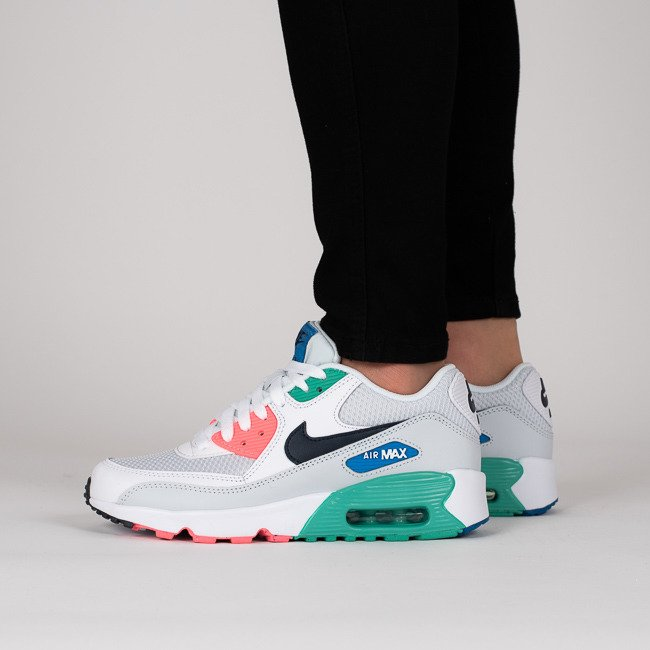 ... Baskets femme Nike Air Max 90 Mesh (GS) 833418 112 ...