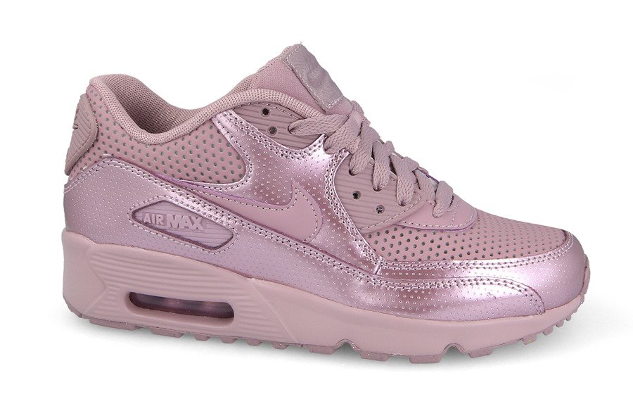 ... Baskets femme Nike Air Max 90 Se Leather 859633 600 ...