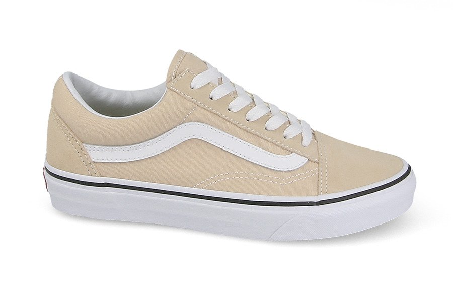 vans old school beige daim