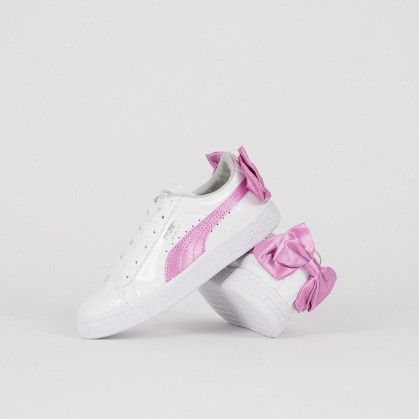 revendeur c6ac3 526f6 Baskets fille Puma Basket Bow Patent 367622 02 -SneakerStudio