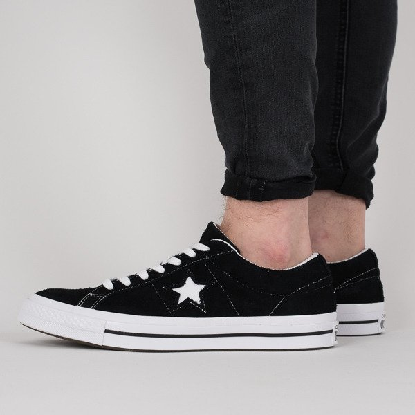 Baskets homme Converse One Star 74 Premium Suede 158369C
