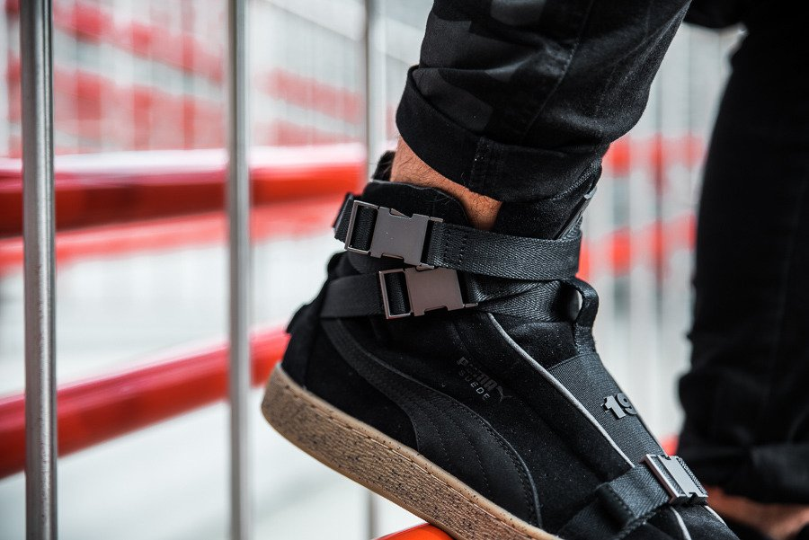 Baskets homme Puma Suede Classic x The Weeknd 366310 01