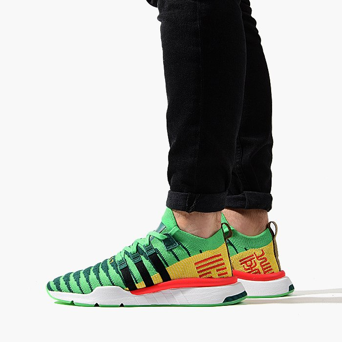 6a0522039c67 ... Baskets homme adidas Originals Dragon Ball Z Shenron Equipment EQT  Support Mid ADV D97056 ...