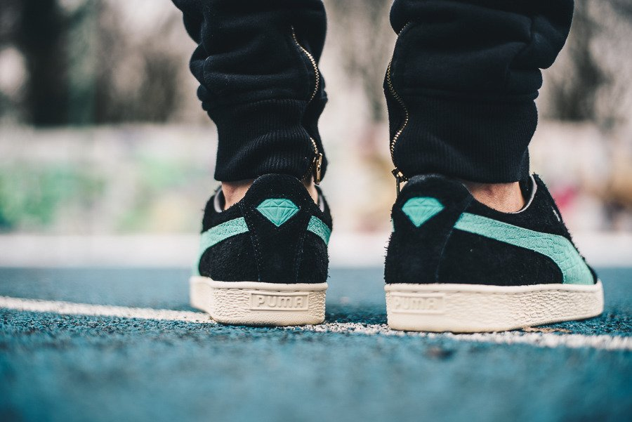 Chaussures baskets homme Puma Suede x Diamond Supply Co