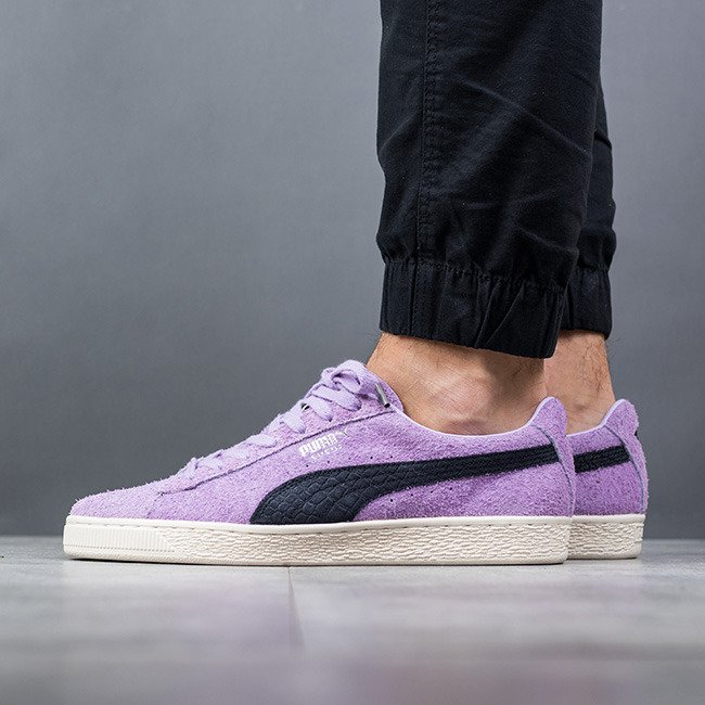 Chaussures baskets homme Puma Suede x Diamond Supply Co. Orchid Bloom 365650 02 eyrplS