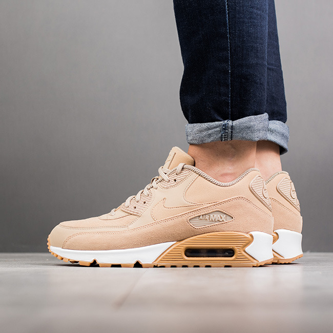 Chaussures femme sneakers Nike Air Max 90 Se 881105 200
