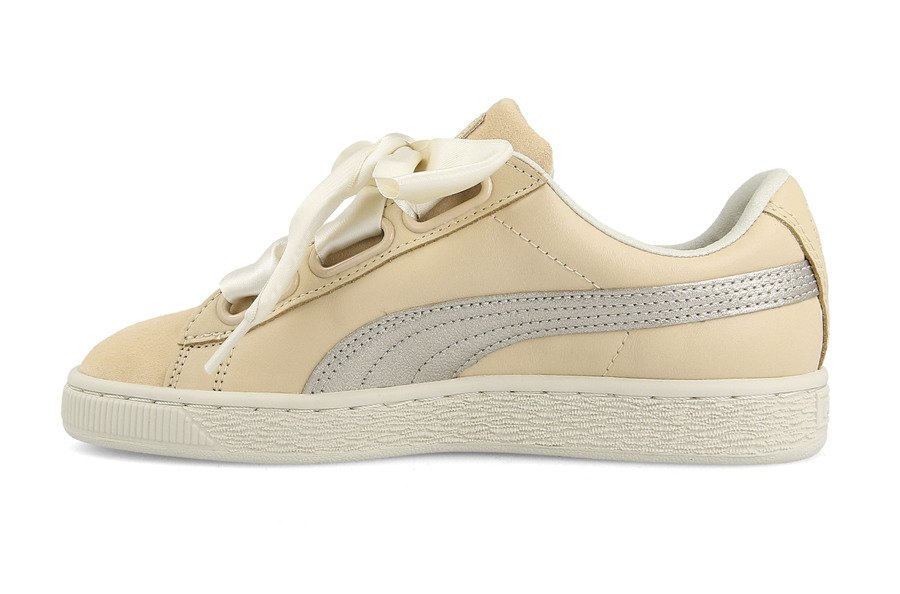 Chaussures femme sneakers Puma Basket Heart Up Wns 364955 01 0sGdrY11