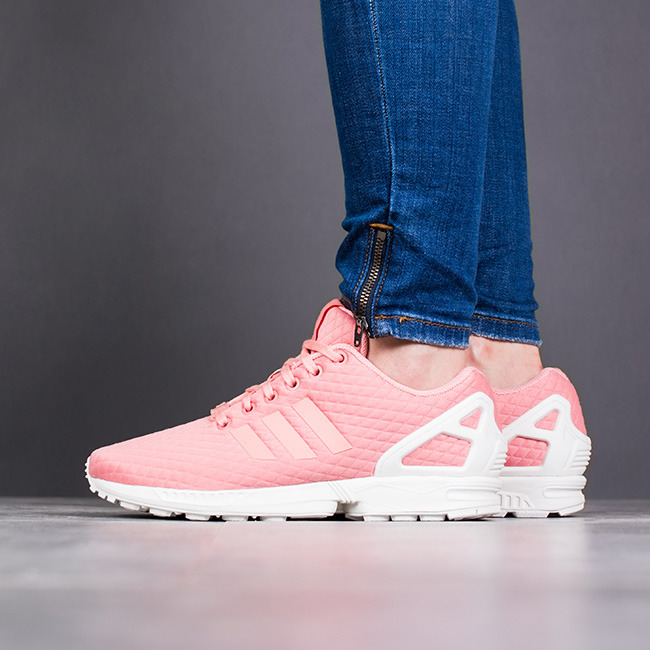 low priced 901f9 11085 ... Chaussures femme sneakers adidas Originals Zx Flux BY9213 ...