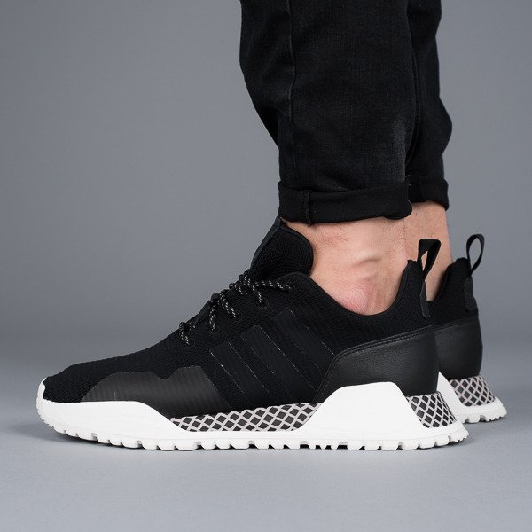 brand new 83766 ad838 Chaussures homme sneakers adidas Originals F1.4 Primeknit Core Black BY9395