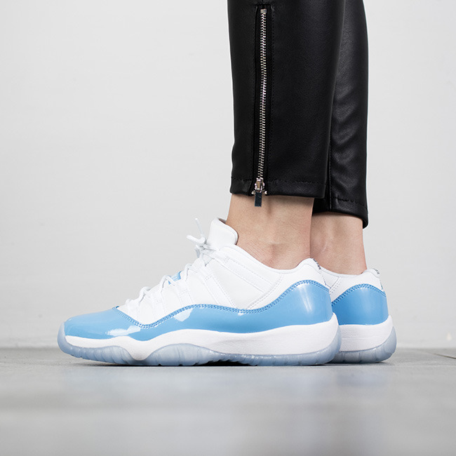 Femme chaussures sneakers Air Jordan 11 Retro Low UNC ...