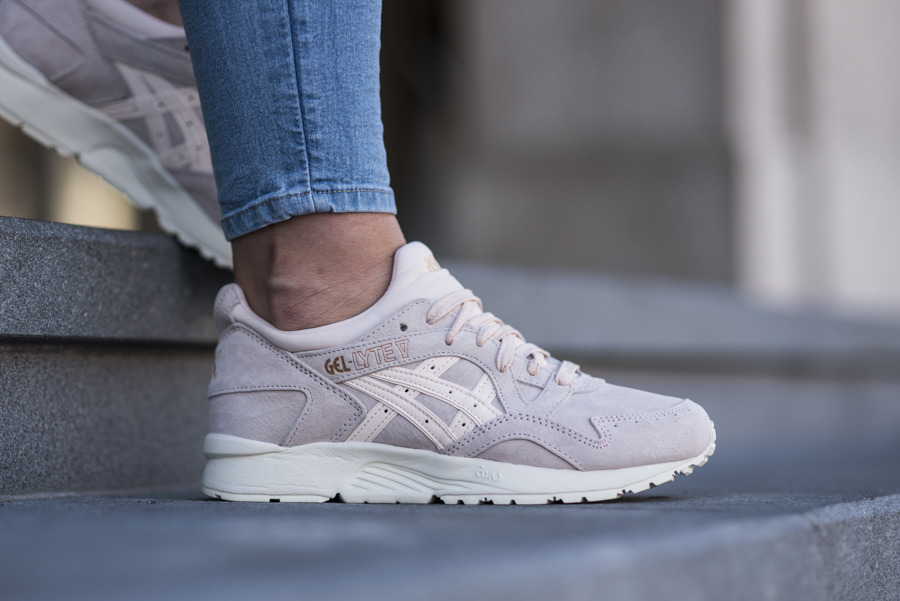 asics gel lyte v femme sunburst and light mint