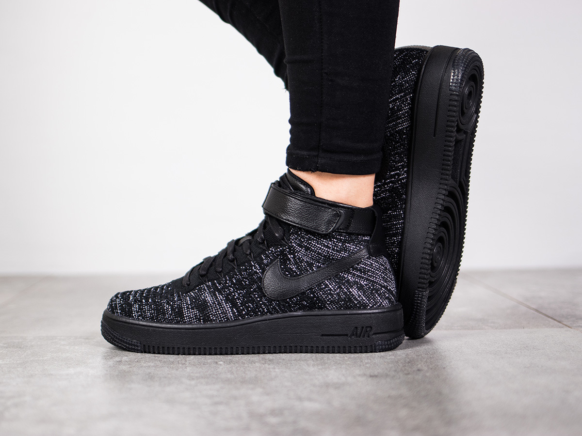 Nike Femme Chaussures 1 Sneakers Flyknit 002 Air Force 818018 Yfgv76yb