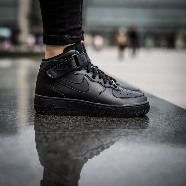 ... Femme chaussures sneakers Nike Air Force 1 Mid (GS) 314195 004 ...