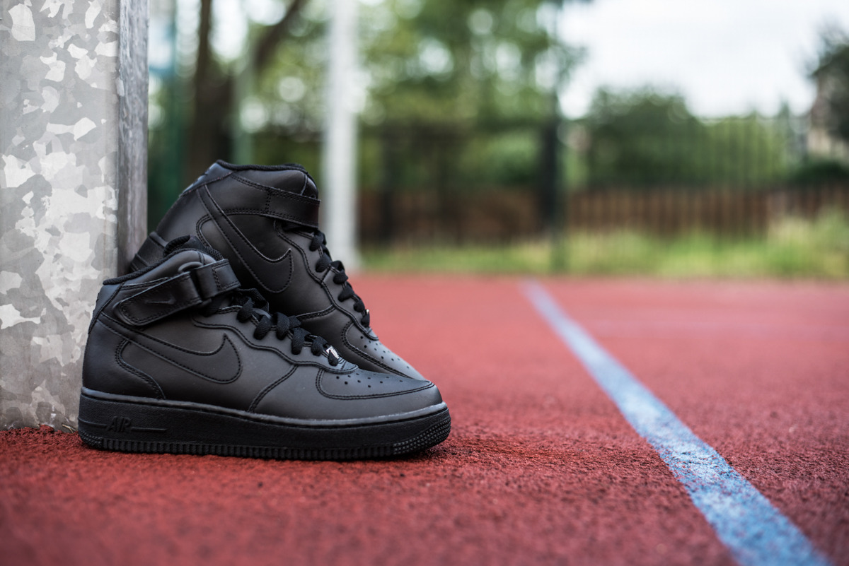 Nike Chaussures Air Force 1 MID Gs 314195004 Nike tTXig