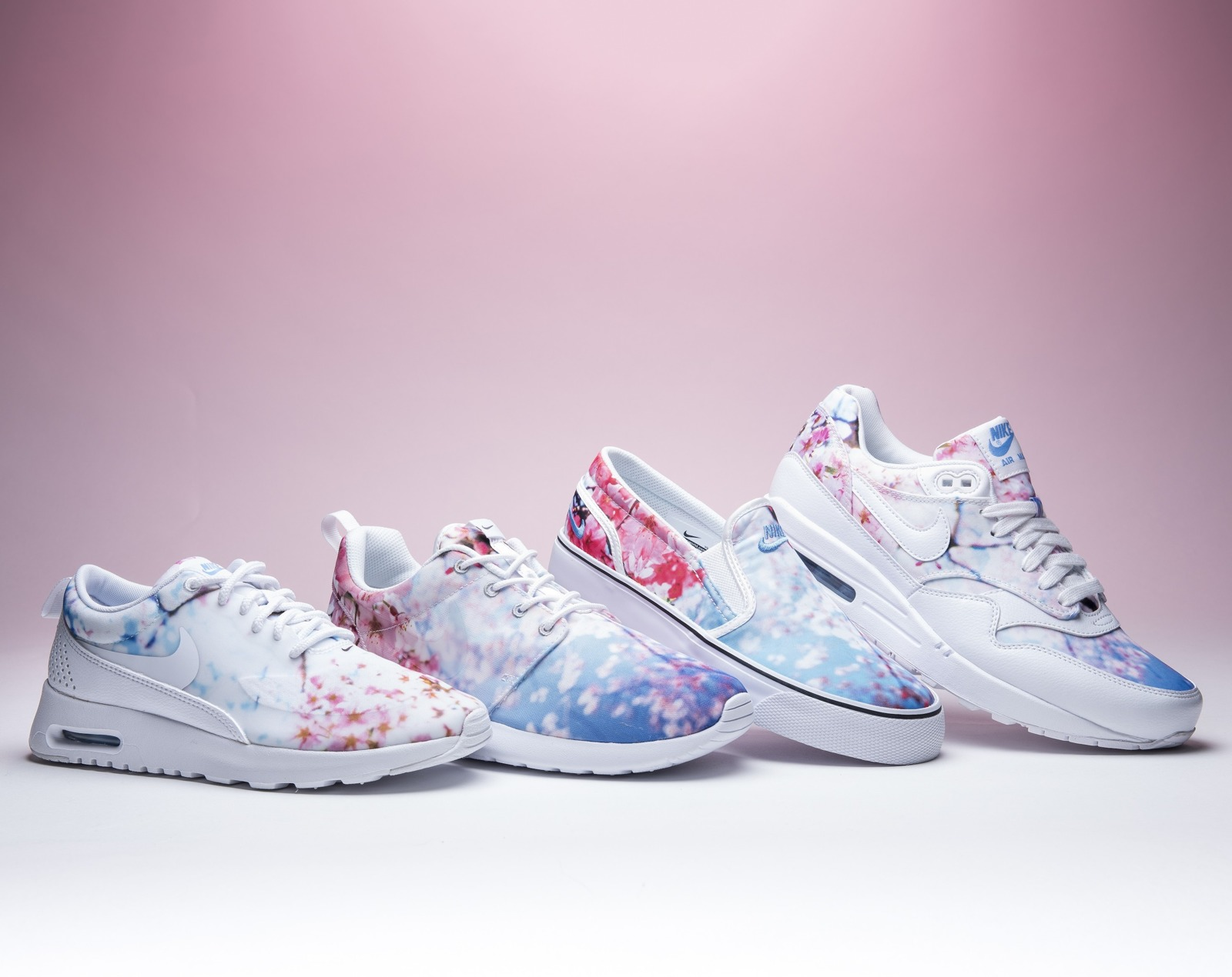 Femme chaussures Baskets Nike Air Max 1 Print Cherry Blossom Pack