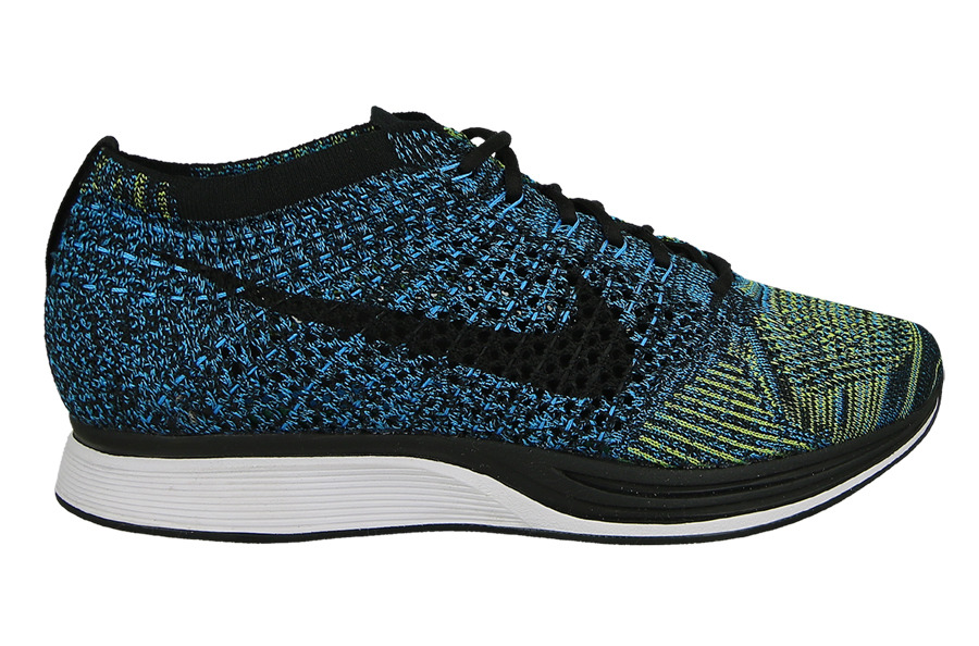 femme chaussures sneakers nike flyknit racer blue glow 526628 405. Black Bedroom Furniture Sets. Home Design Ideas