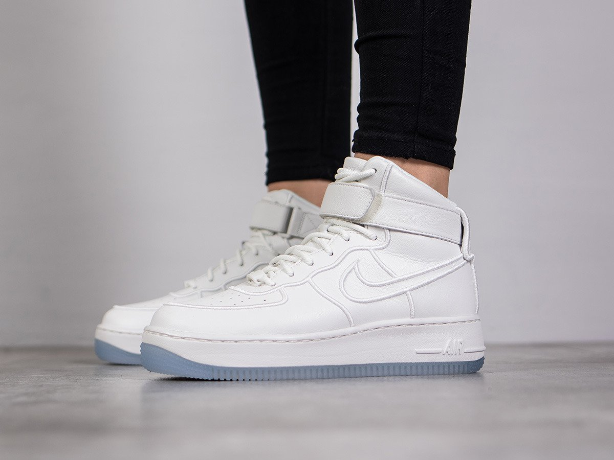 ... Femme chaussures sneakers Nike Wmns Air Force 1 Upstep Hi Si 881096 100 ...