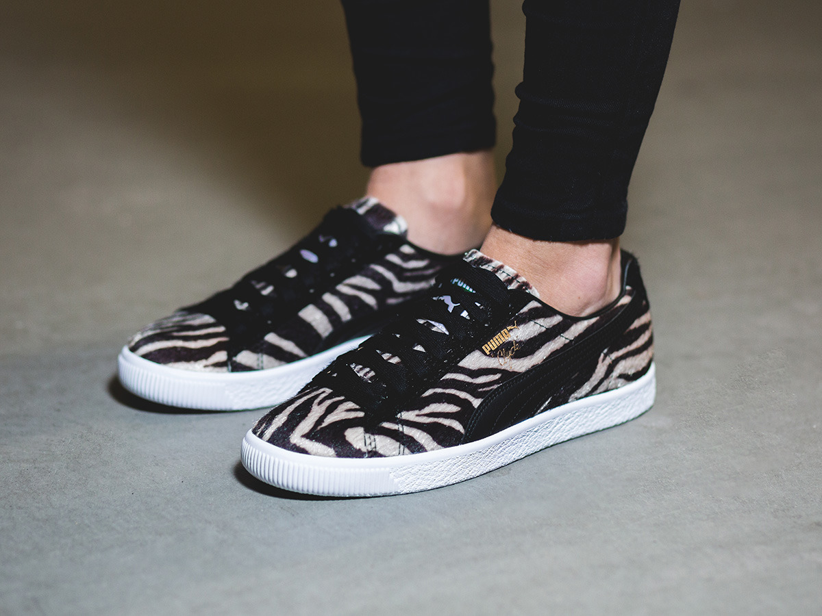 Femme chaussures sneakers Puma Clyde Suits 363426 01
