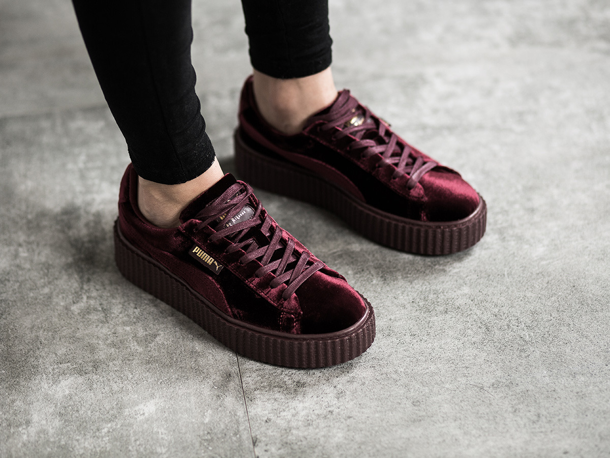 finest selection 10cdd d1f46 Or Blanche Puma Creepers 6rb6qzn Interlock Et TOqpxq7