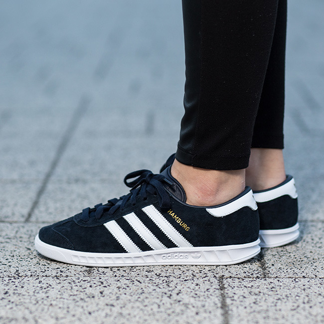 ... Femme chaussures sneakers adidas Originals Hamburg S75368 ...