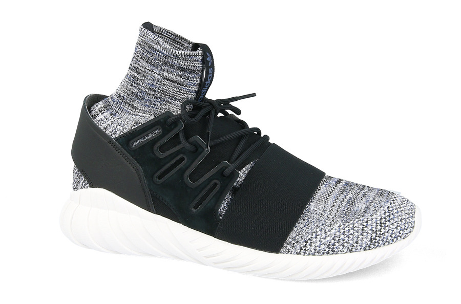 adidas Originals - Tubular Doom Primeknit - Baskets - Gris BY3550 - Gris qg8YI4eD7