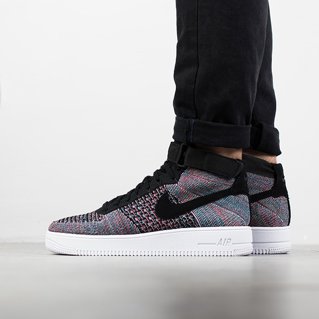 ... Homme chaussures sneakers Nike Air Force 1 Ultra Flyknit Mid 817420 602 ...