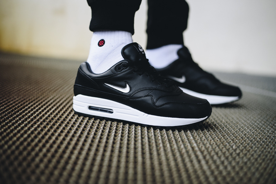 ... Homme chaussures sneakers Nike Air Max 1 Jewel Premium Sc 918354 001 ...