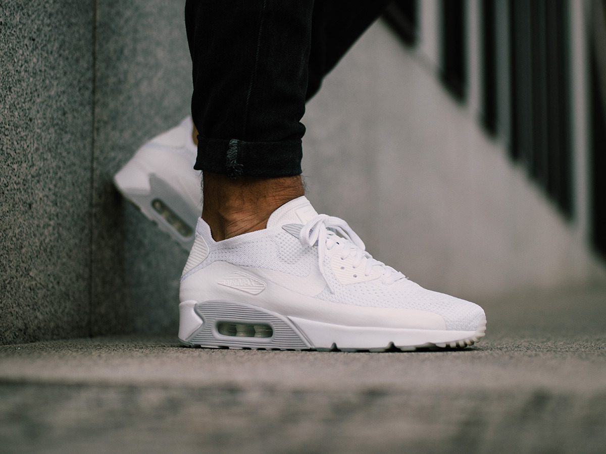 buy online 741fa 8f91b ... good homme chaussures sneakers nike air max 90 ultra 2.0 flyknit 875943  101 8b313 9d09e