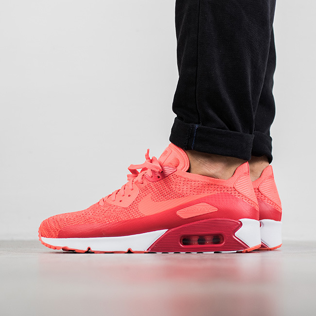 38 1/2 EU Gris Homme chaussures sneakers Nike Air Max 90 Ultra 2.0 Flyknit