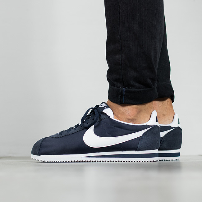 Cortez 807472 Homme Nylon Sneakers Nike 410 Chaussures Classic IrwCFwvAq