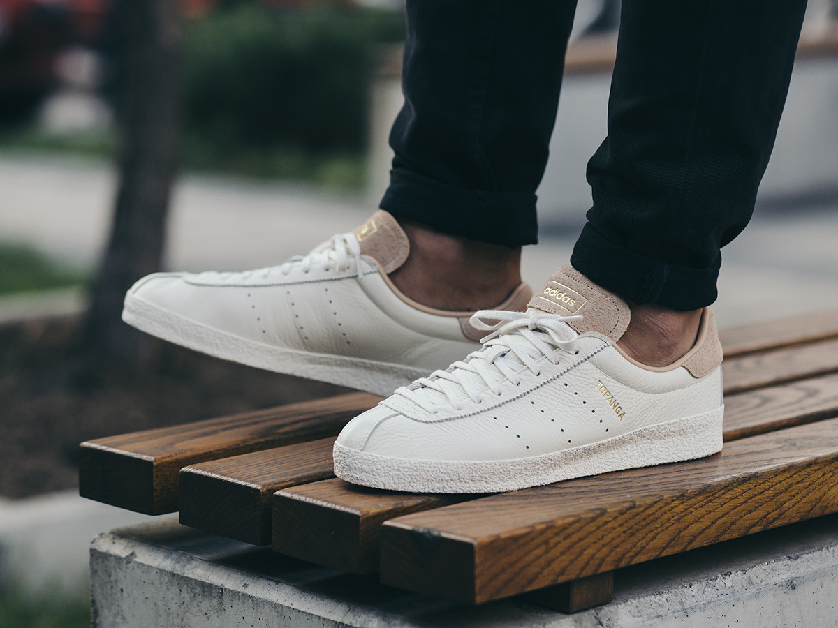 Homme chaussures sneakers adidas Originals Topanga Clean