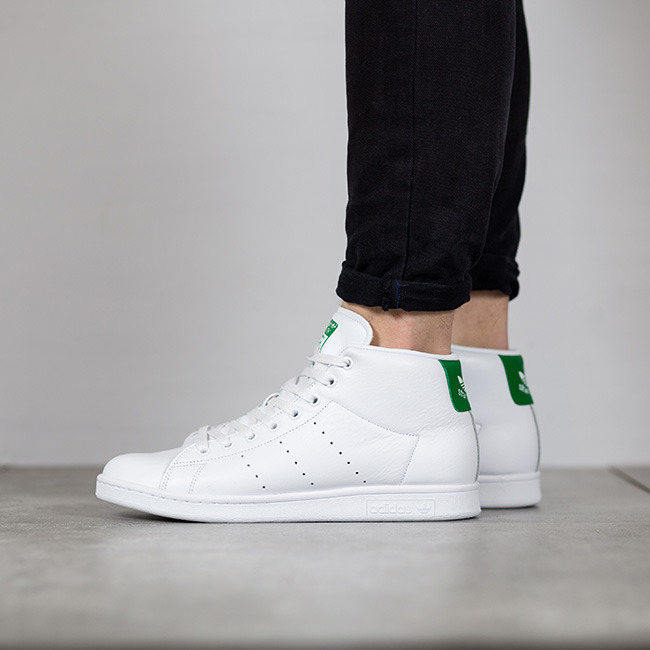 Homme chaussures sneakers adidas Stan Smith Mid BB0069