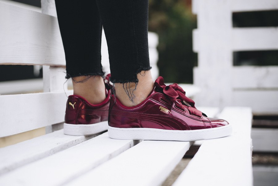 Puma Basket Heart Glam Jr 364917 02 SneakerStudio