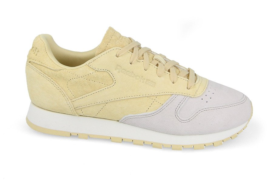 Reebok CL Leather NBK W chaussures jaune gris