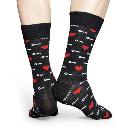 Chaussettes homme Happy Socks Key to My Heart KTM01-9000
