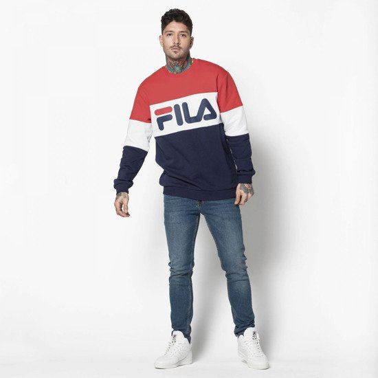 Sweetshirt homme Fila Men Straight Blocked 681255 K14