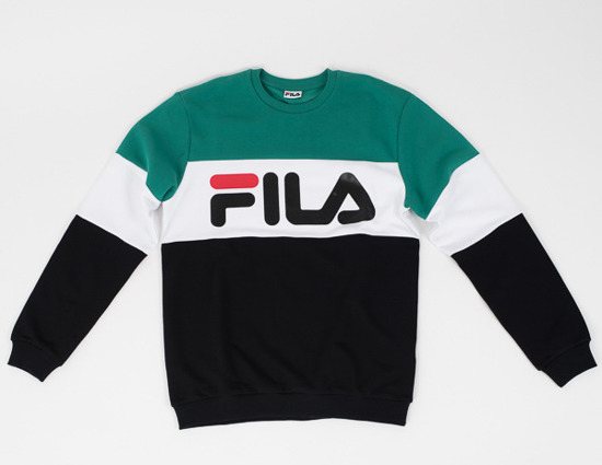 Sweetshirt homme Fila Men Straight Blocked 681255 I82