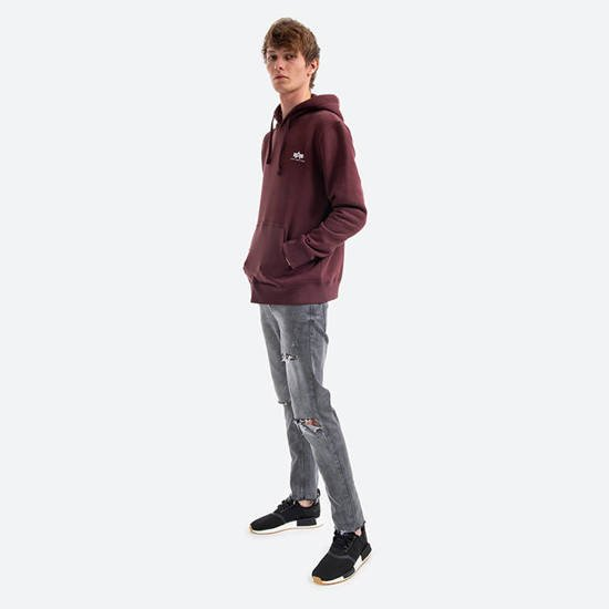 Alpha Industries Basic Hoody Small Logo 196318 21