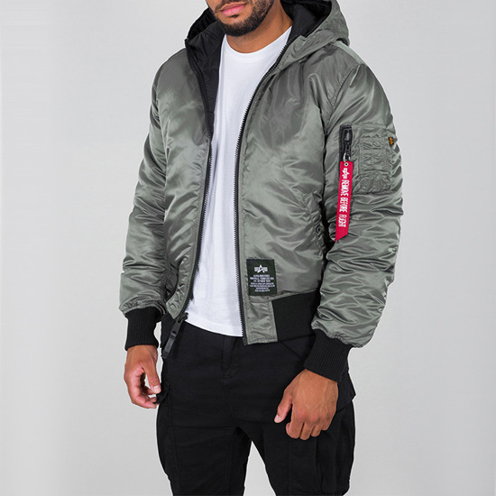 Alpha Industries Hooded Puffer FD Rev. 198117 432