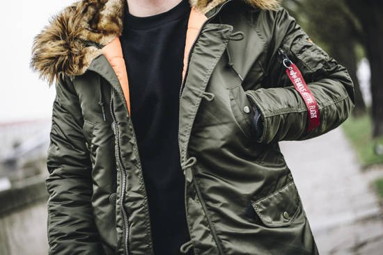 Alpha Industries Parka N3b Vf 59 103141 257