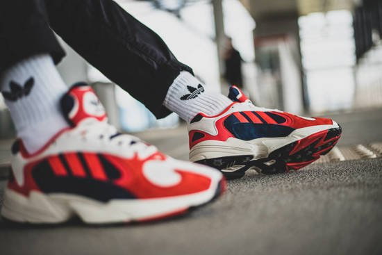 adidas yung 1 femme rouge
