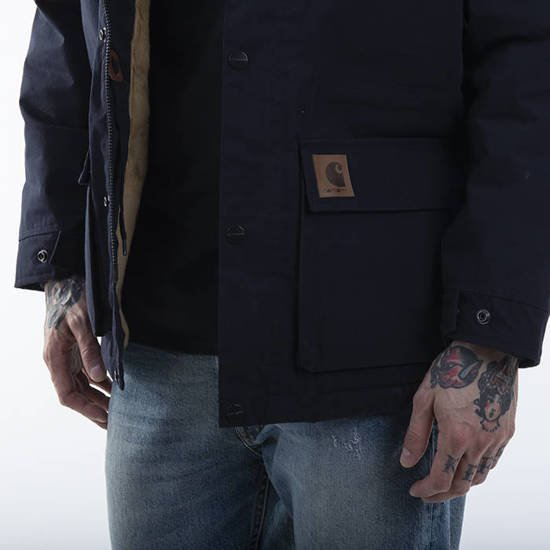 Carhartt WIP Mentley Jacket I028128 DARK NAVY